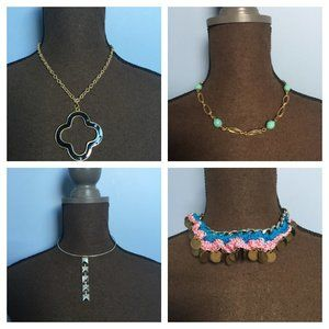 NWT JEWELRY BUNDLE - FOUR NECKLACES FOR $10